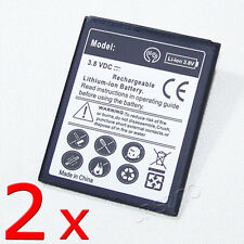 2x 2600mAh Rechargeable Battery For Samsung Galaxy Exhibit SGH-T599N MetroPCS US