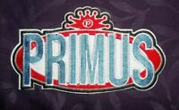 PRIMUS PATCH LOGO CHOCOLATE FACTORY HEAVY METAL FUNK WES CLAYPOOL SEW/ IRON
