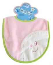 "Pink Bib 11.5"" Aurora Baby Plush  ""Lil Bundles Baby"" Girl Infant Safe NEW"