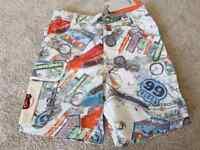 New Boys Designer Angel and Rocket Shorts Next Holiday 4 5 7 9 10 Years