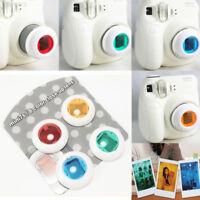 E1E8 Cute 4 Colors Filter Lens Photo For Fuji Instax Mini 7S/8/8+/Kitty Polaroid