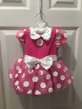 Disney Baby Minnie Mouse Infant Costume Size 6-12 Months New