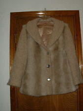 Women's St. Moritz Sportowne Faux Fur & Knit Coat Large