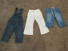 Children'S Place & Gap Kids Capri Pants & Overalls & Embroidered Pants Sz 5 lot!
