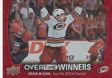BROCK McGINN NO:OW-16 OVERTIME WINNERS ( 08/25 ) in UD OVERTIME 2019-20