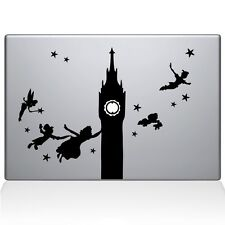 Peter pan big ben macbook decal skin sticker vinyl | laptop stickers decals