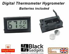 Digital Temperature Humidity Thermometer Hygrometer Vivarium Terrarium Reptile