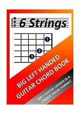 Big Left Handed Guitar Chord Book Free Shipping