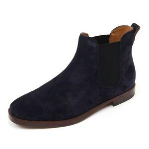 C2112 beatles uomo POLO RALPH LAUREN DILLIAN II scarpa blu shoe boot man