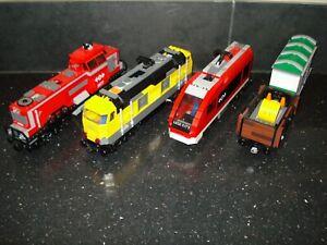 Lego Train/Railway - Trains/Trucks/Cargo Accessories - Multiple Variations!