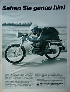 Kreidler Florett RS Werbung 1968