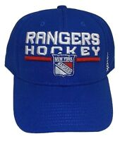 Reebok New York Rangers Cap Center Ice Collection Structured Hat