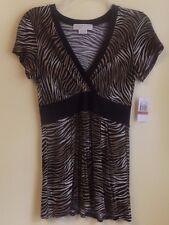 MICHAEL KORS Ladies V-Neck Tunic Size XS -XP / NWT