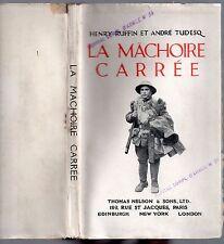 GUERRE 14/18 LA MACHOIRE CARREE 1917 ARMEE BRITANNIQUE Ex. de l'hôpital HAC N°34