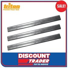 Triton Spare Replacement 180mm Planer Blades 3pk 928758