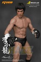 Bruce Lee Chinese Kung Fu Promoter 1/12 19cm PVC Figure Statue Model Toy No Box