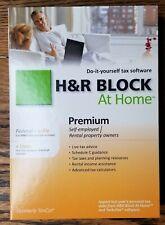 2010 H&R Block At Home PREMIUM Federal+e-file+State