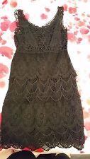 292ff07154 Women's Black Boston Proper Crochet dress size Extra Small ...