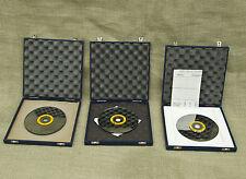 Lot 3 Dr Schenk gmbh MT136 Optical Disc Scanner Mirror Disk + Dishing Test Disk