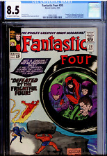 Fantastic Four #38 CGC 8.5 OW/WHITE -- 1965 -- 2nd Medusa ,Frightful Four, Kirby