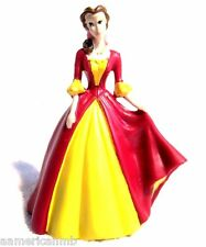 "Disney Princess Belle 3"" Beauty The Beast Figurine Toy Cake Topper Topping Decor"