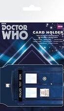 DR WHO CARDHOLDER - TARDIS - PLASTIC CARDHOLDER WALLET CH0380