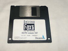 """Delrina Fax Lite for Macintosh SITComm SE  on 3.5"""" floppy disk"""