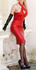 Spring Designer Lamb New Leather Women Dress Cocktail Stylish Party Wear  D-001