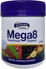 Wonderfoods Mega8 Superfoods Organic 210g ( Wonder Foods )