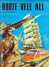 IMPERIA ALBUM FIGURINE RUOTE VELE ALI 1976 ? VERSIONE FIGURINE ADESIVE