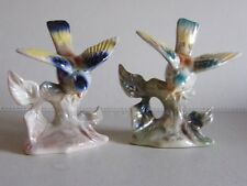 Vintage Lustre Ware Birds Jema Holland 270