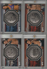 2013 UFC BLOODLINES RORY MacDONALD OCTAGON COIN CARD  #028/108