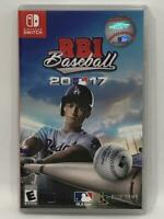 R.B.I. Baseball 17 (Nintendo Switch, 2017)