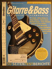 GITARRE & BASS 2003 # 2 - CREAM KING CRIMSON GRAHAM COXON KRIST NOVOSELIC JANE