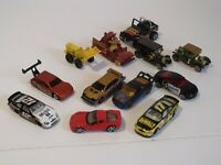 Lot of 12 Mixed Die Cast Cars-Hot Wheels Matchbox including Misc.Older Items