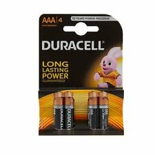 Paquete De 4 Pilas Duracell Aaa Alcalinas 1.5V LR03/MN2400 energía más duradero