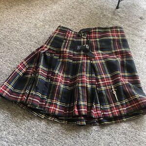 Vintage Mens Scottish Tartan Kilt