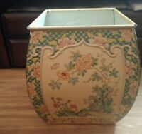 Vintage Asian-inspired Tin