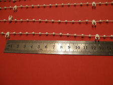 """10 METRES PROFESSIONAL STRONG 5"""" 127mm VERTICAL BLIND BOTTOM CHAIN SPARES PARTS"""