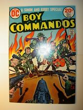 Boy Commandos #1 VF/NM, #2,VF/NM, 1973, DC comics, Simon & Kirby, BV=$28