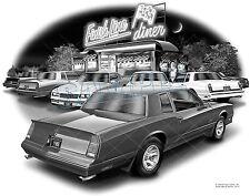 MONTE CARLO 1988 83,84,85,86,87 SS MUSCLE CAR ART PRINT #1910
