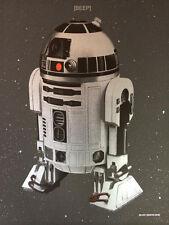 """Blunt Graffix """"Beep"""" Star Wars Interbalacktic R2D2 limited edition screen print"""