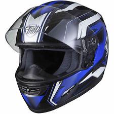 THH Ts-80 #6 Black/blue M Motorcycle Full Face Inner SV Helmet Motorbike Seconds