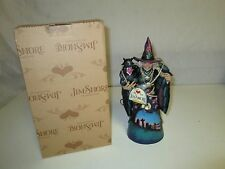Jim Shore Heartwood Creek Witchful Thinking Cute Witch Figurine w/ Box