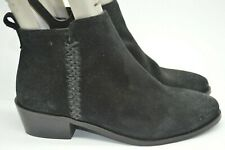 Beautiful Jones Black Leather Ankle Boots. Size 4. Great Condition!
