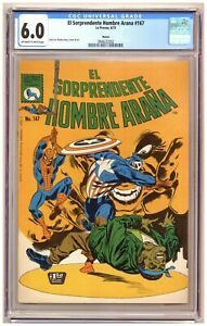 El Sorprendente Hombre Araña 167 (CGC 6.0) Amazing Spider-Man Mexican Edition
