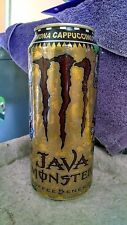 RARE Java Monster Kona Cappuccino - Energy Drink. Full, Sealed 15 oz Can