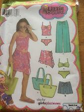 Simplicité Filles Beach Wear Sac Papier sewing pattern. New & UNCUT 5087 Taille 8.5+