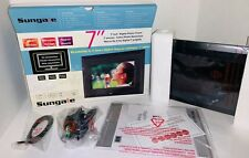 """Sungale CD705 7"""" Digital Picture Frame Opened Box, Never Used!"""