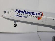 Herpa Wings 1 200 Airbus A321-200 Lufthansa Fanhansa D-aidg 556750